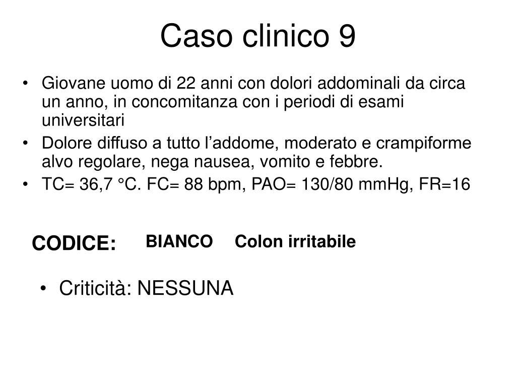 Caso clinico 9