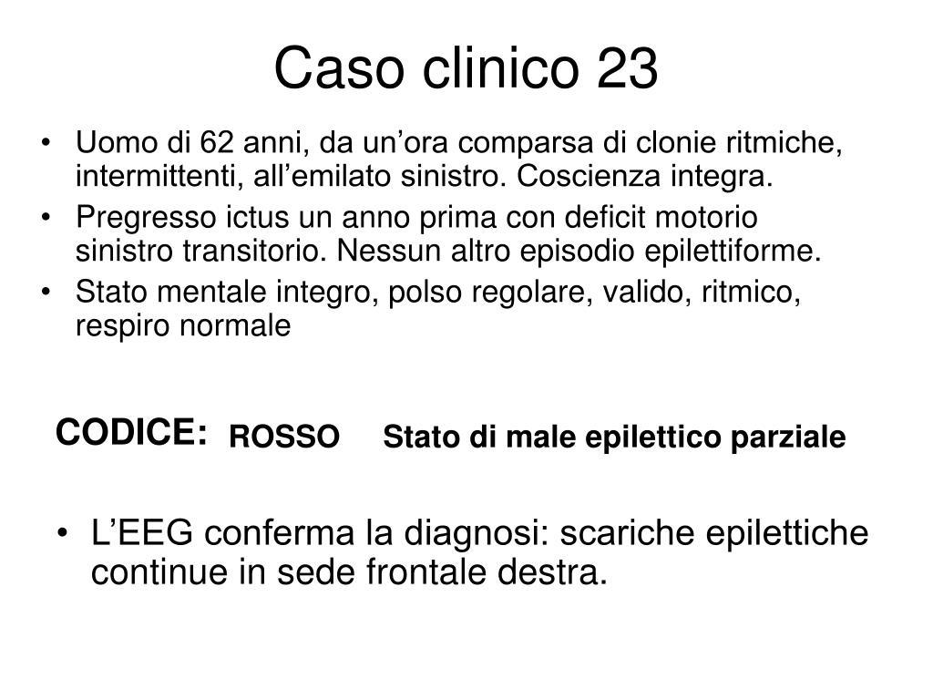 Caso clinico 23