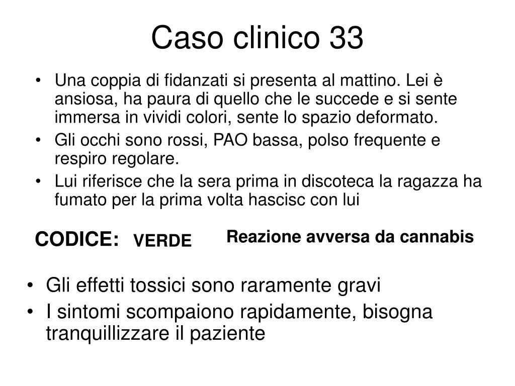 Caso clinico 33