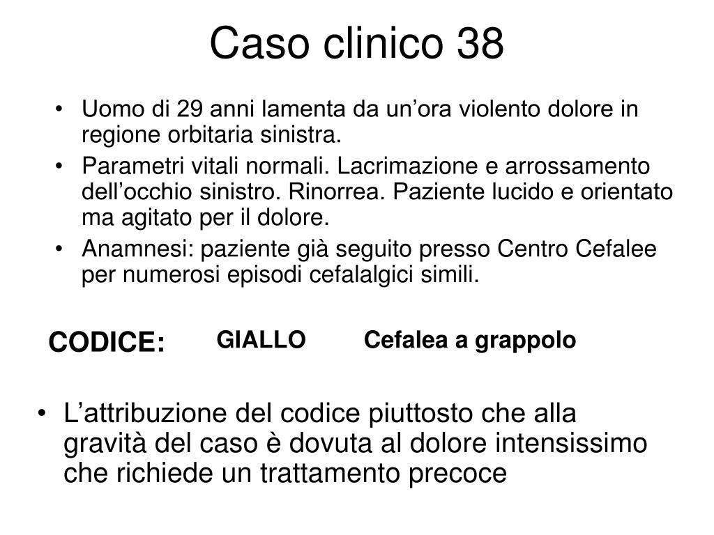 Caso clinico 38