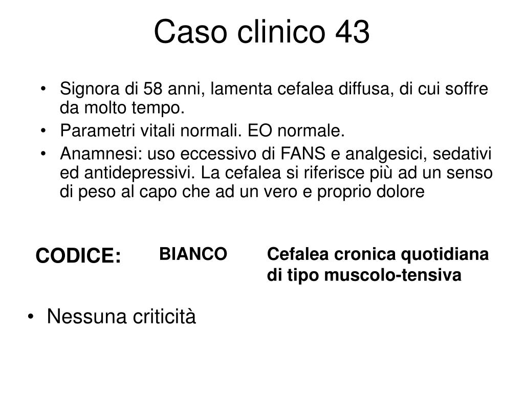 Caso clinico 43