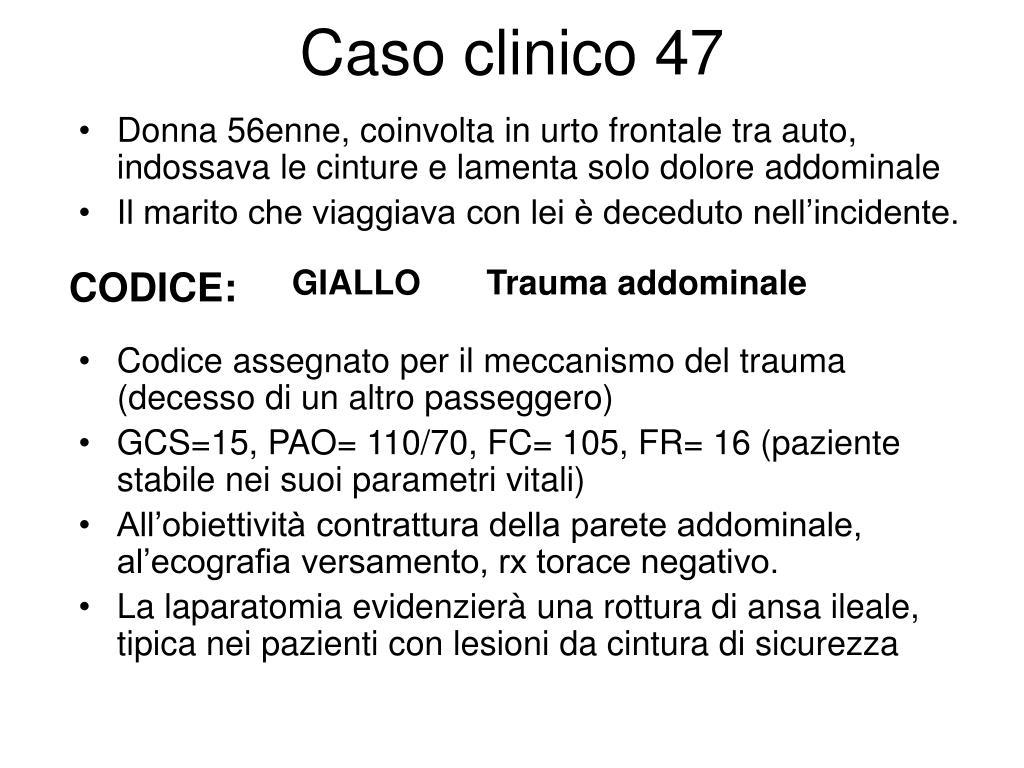 Caso clinico 47