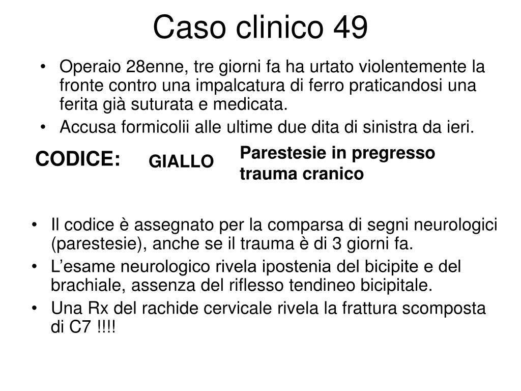 Caso clinico 49
