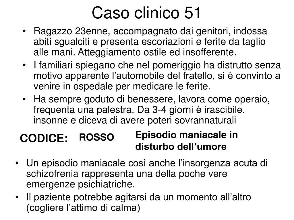 Caso clinico 51
