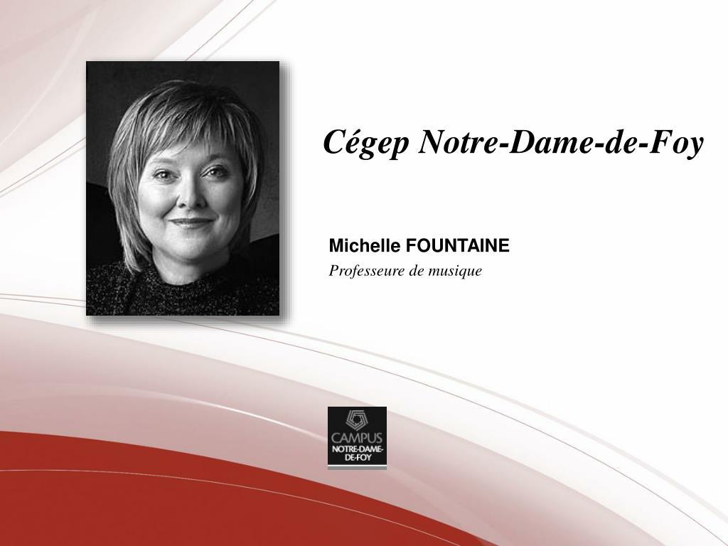 Cégep Notre-Dame-de-Foy