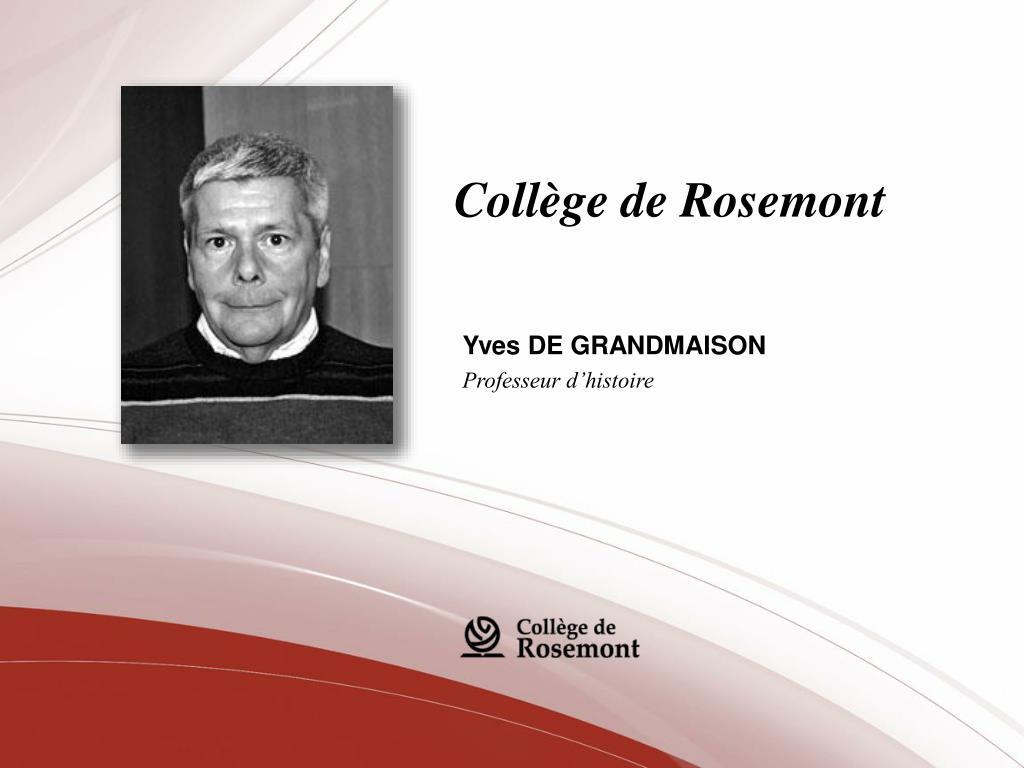 Collège de Rosemont