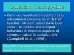 caveats in treating asd s35