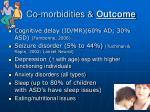 co morbidities outcome