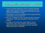 donepezil aricept in autism
