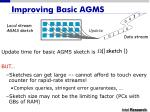 improving basic agms