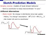 sketch prediction models