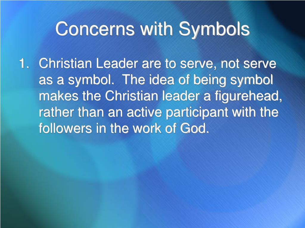 Concerns with Symbols