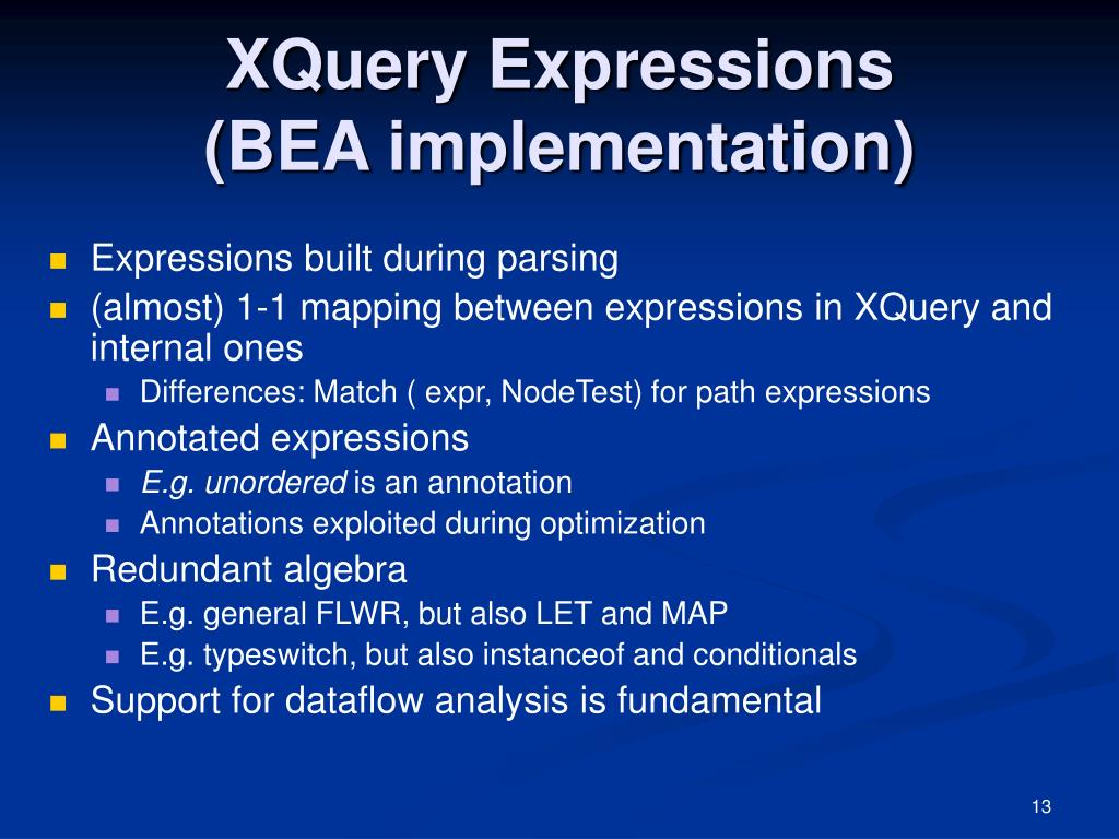 XQuery Expressions