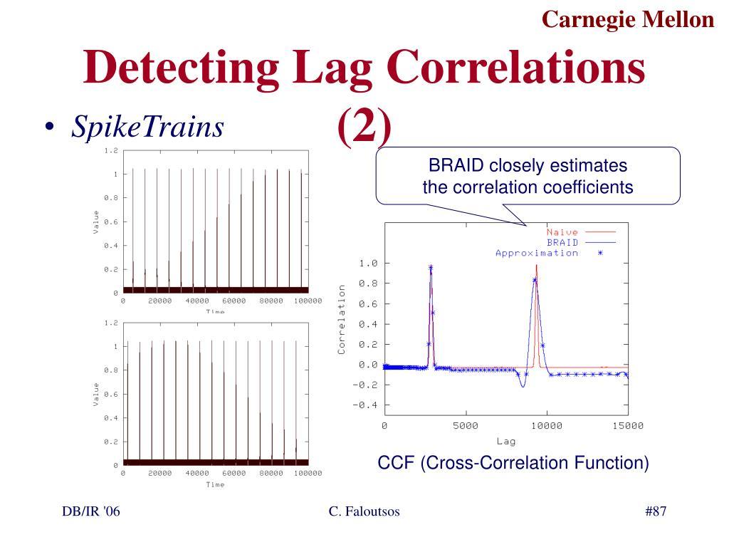 Detecting Lag Correlations (2)