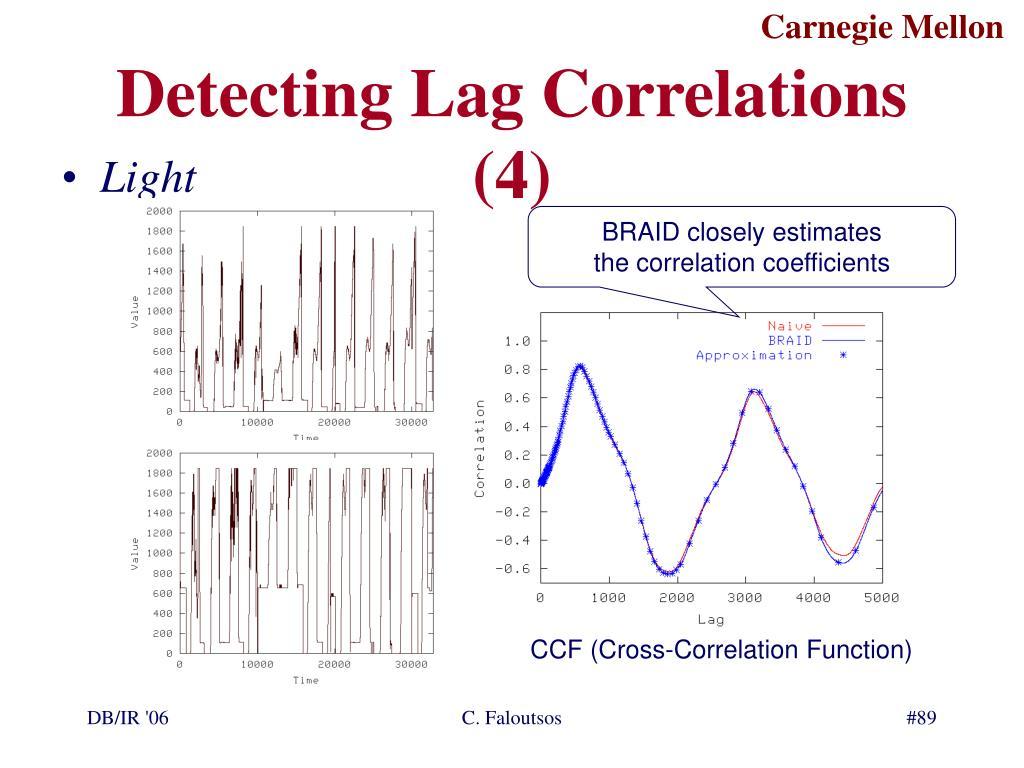 Detecting Lag Correlations (4)