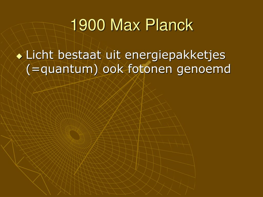 1900 Max Planck