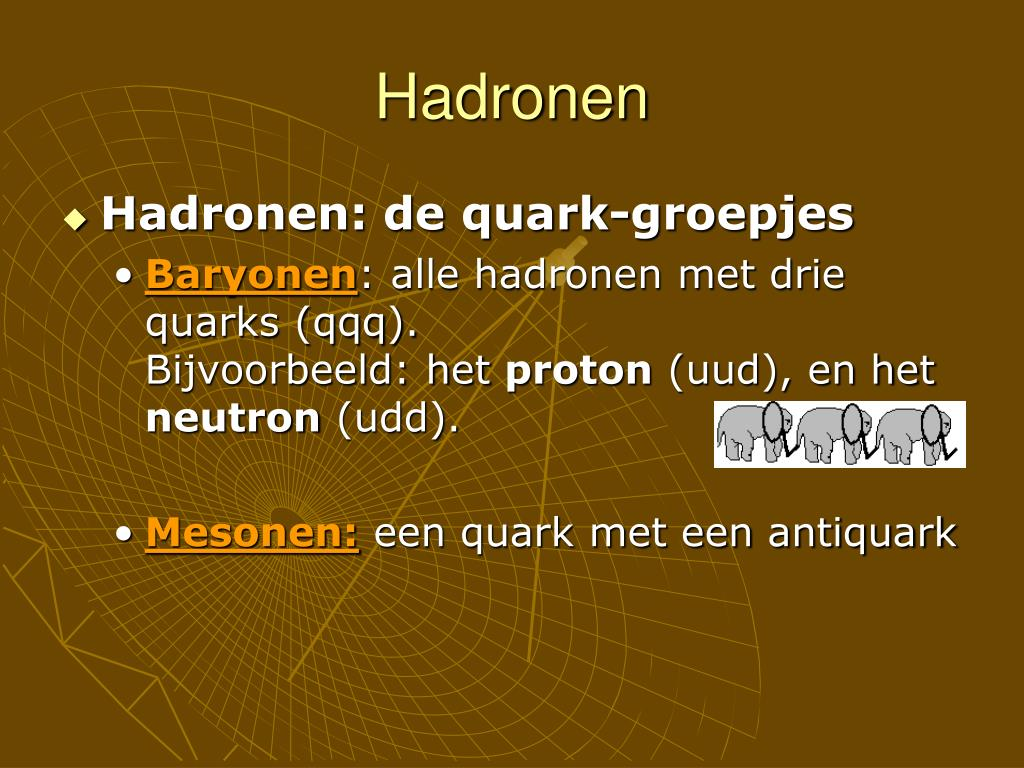 Hadronen