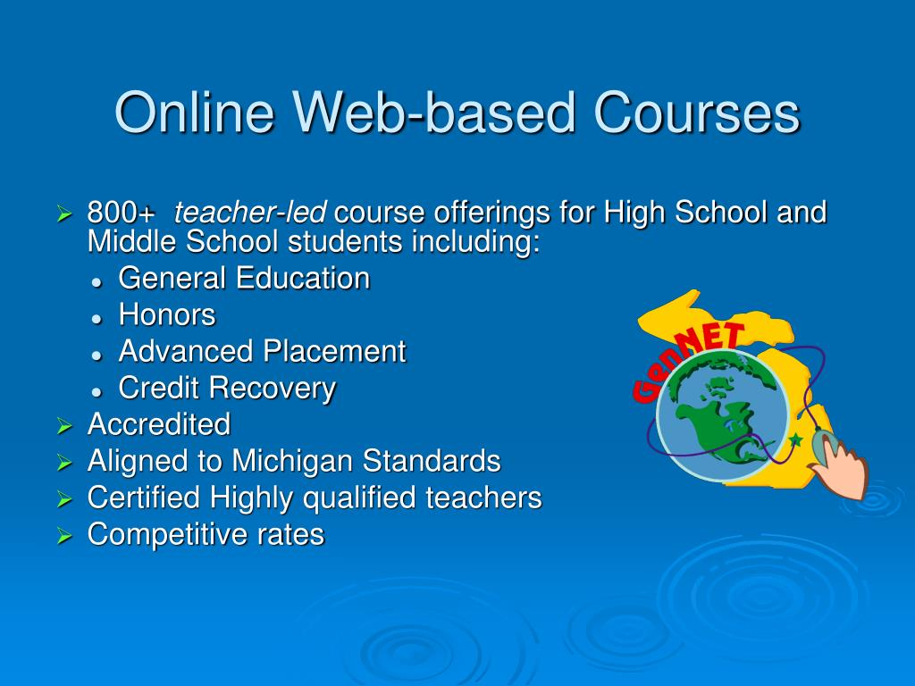 Online Web-based Courses