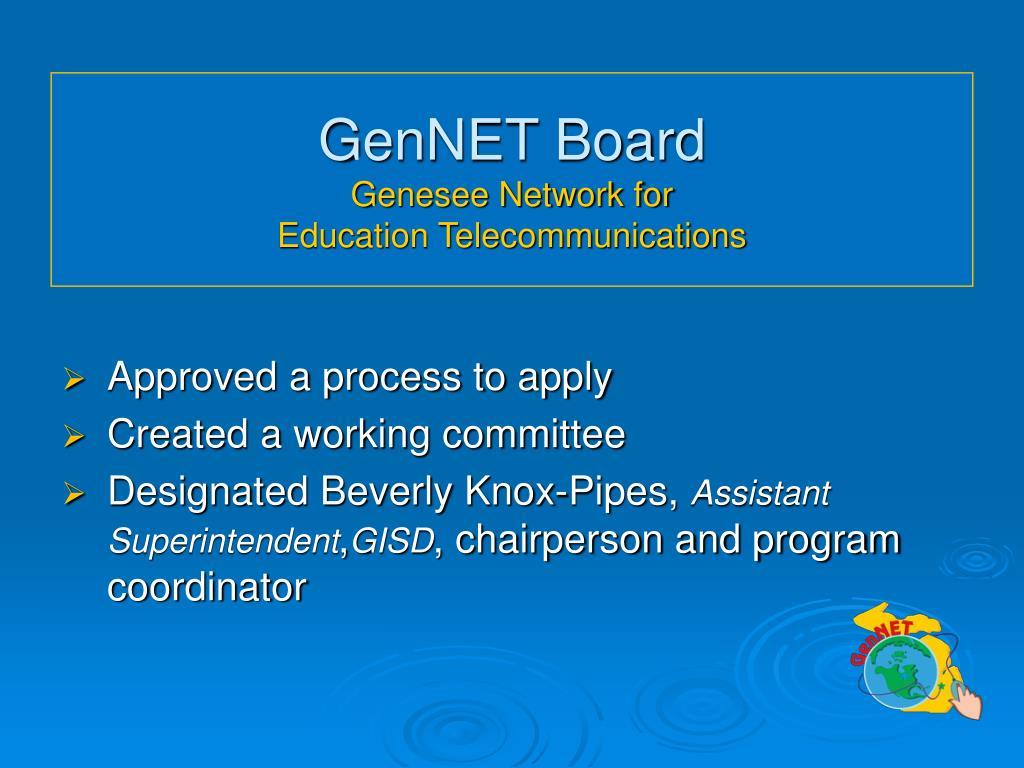 GenNET Board