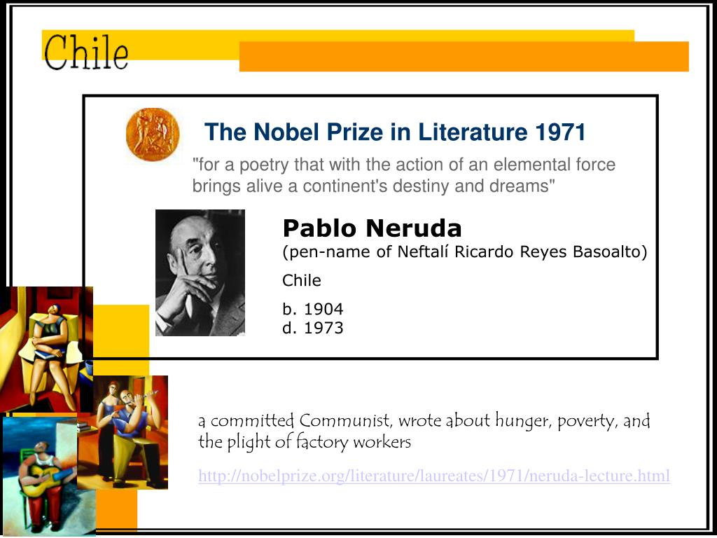 The Nobel Prize in Literature 1971