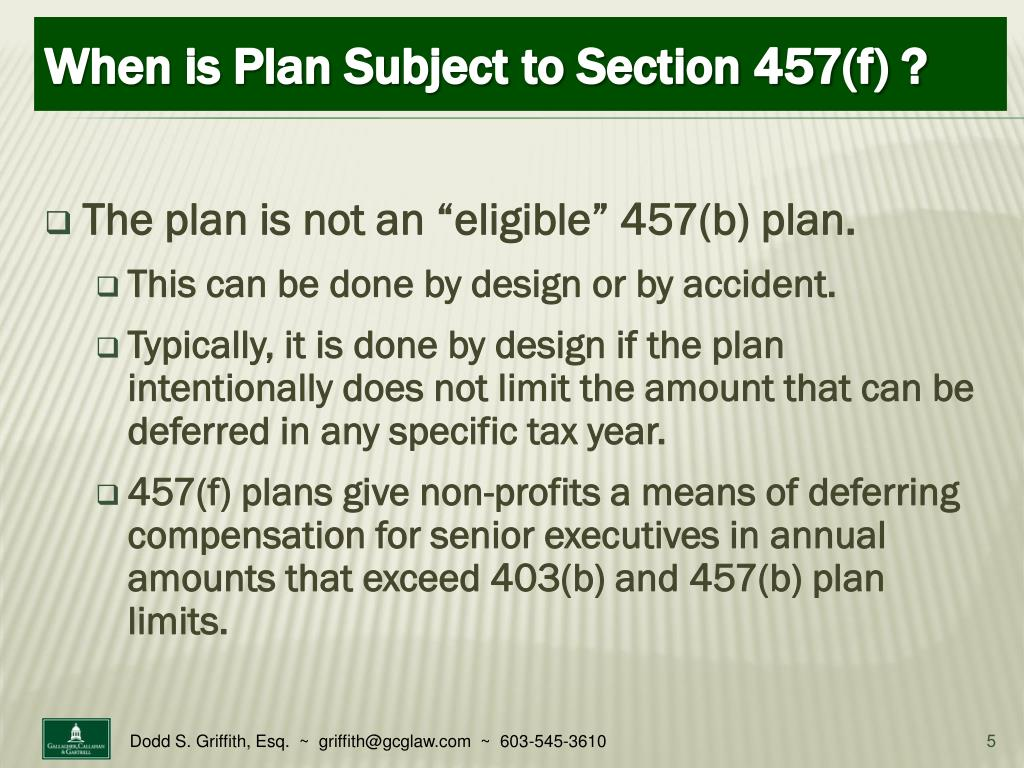 "The plan is not an ""eligible"" 457(b) plan."