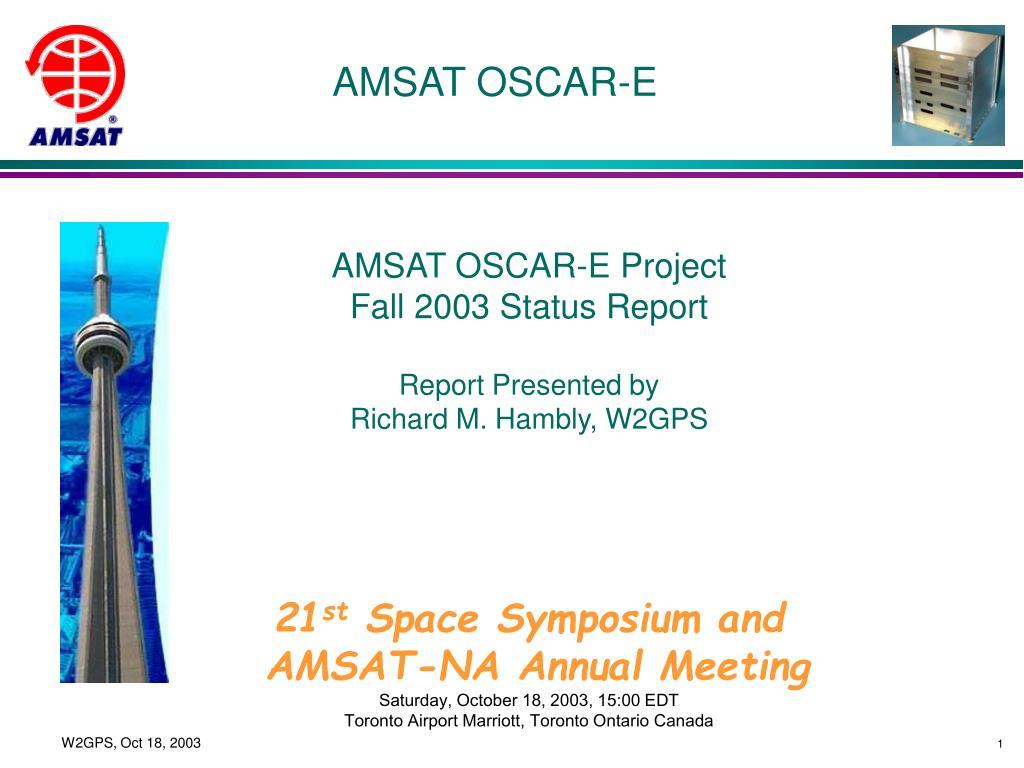 AMSAT OSCAR-E