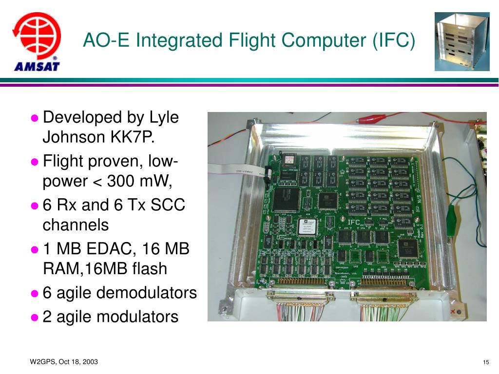 AO-E Integrated Flight Computer (IFC)