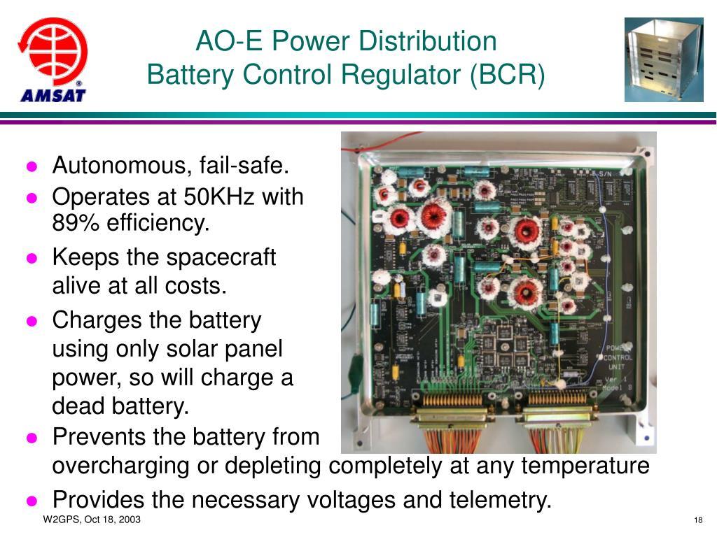 AO-E Power Distribution