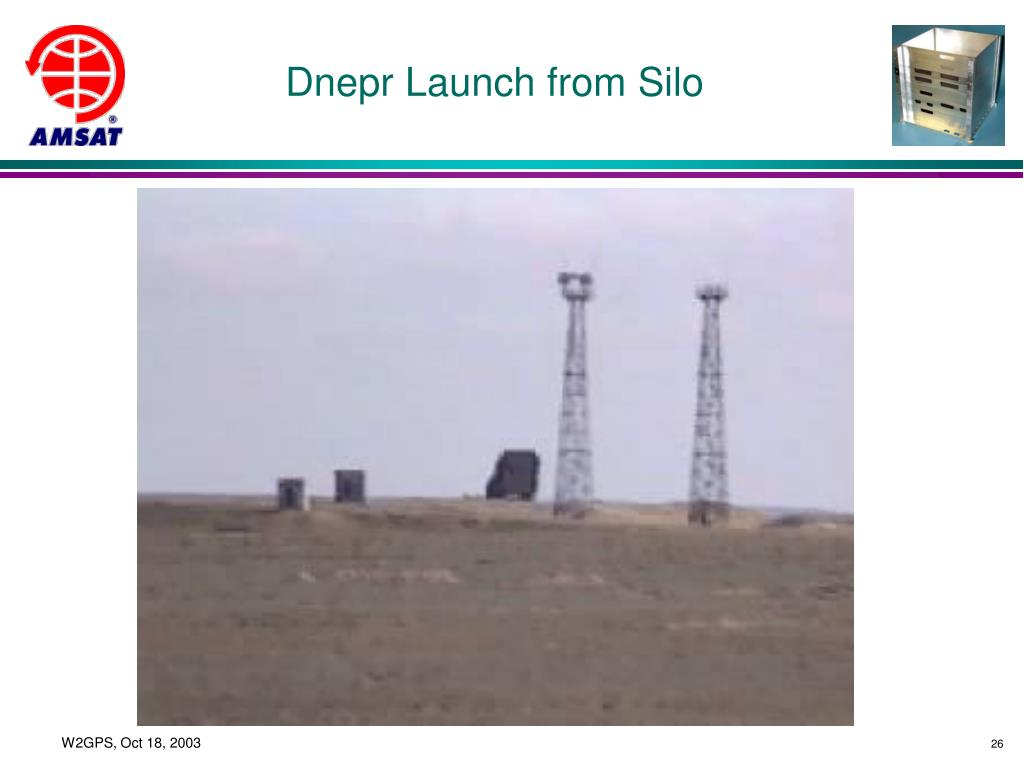 Dnepr Launch from Silo