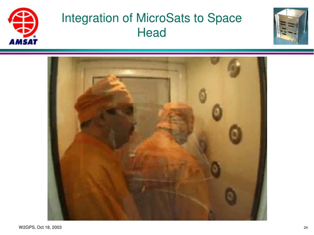 Integration of MicroSats to Space Head