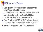 directory tests