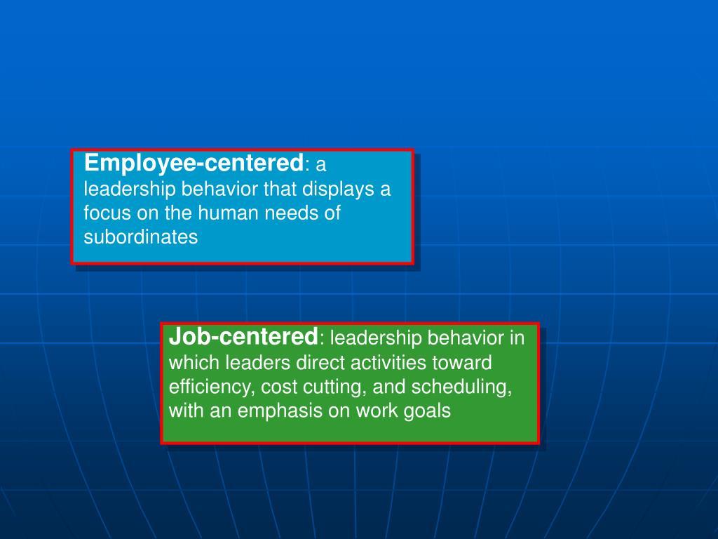 Employee-centered