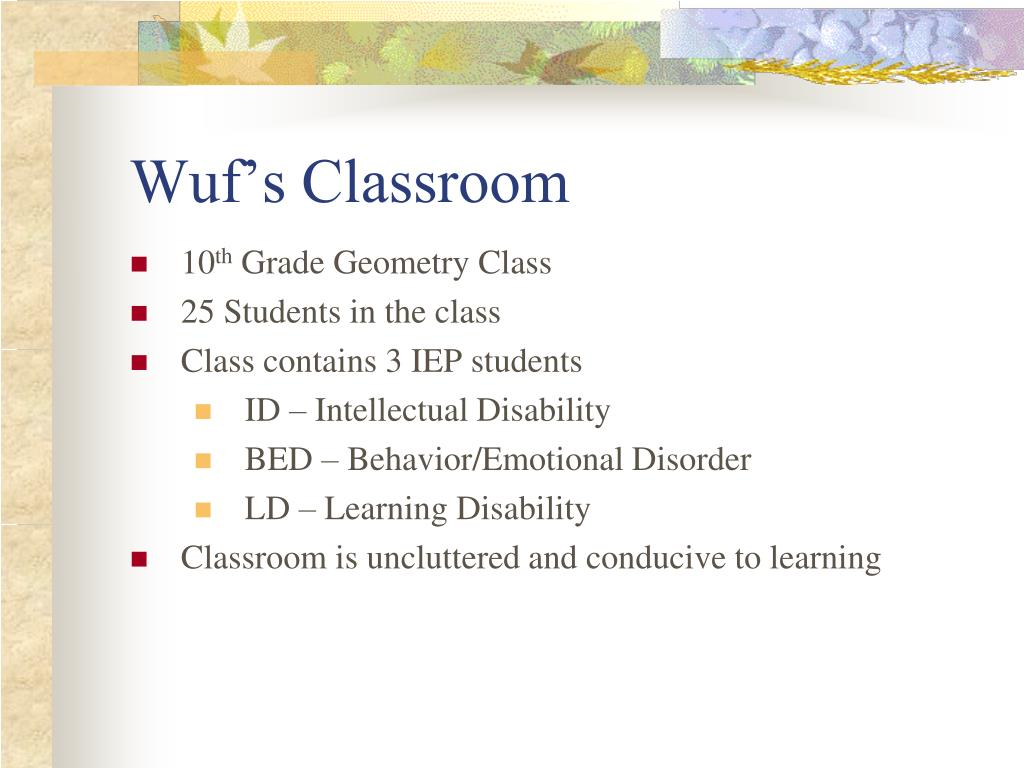 Wuf's Classroom