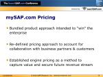 mysap com pricing