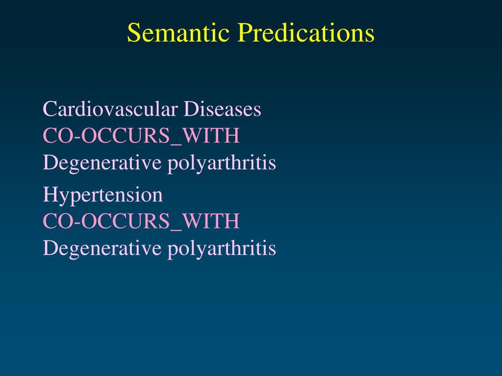 Semantic Predications