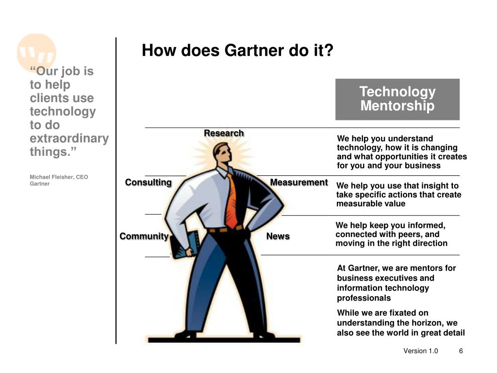 How does Gartner do it?