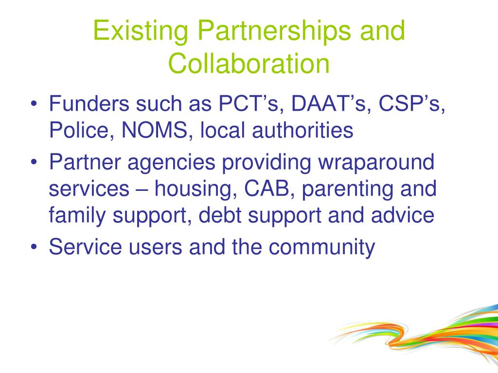 Existing Partnerships and Collaboration