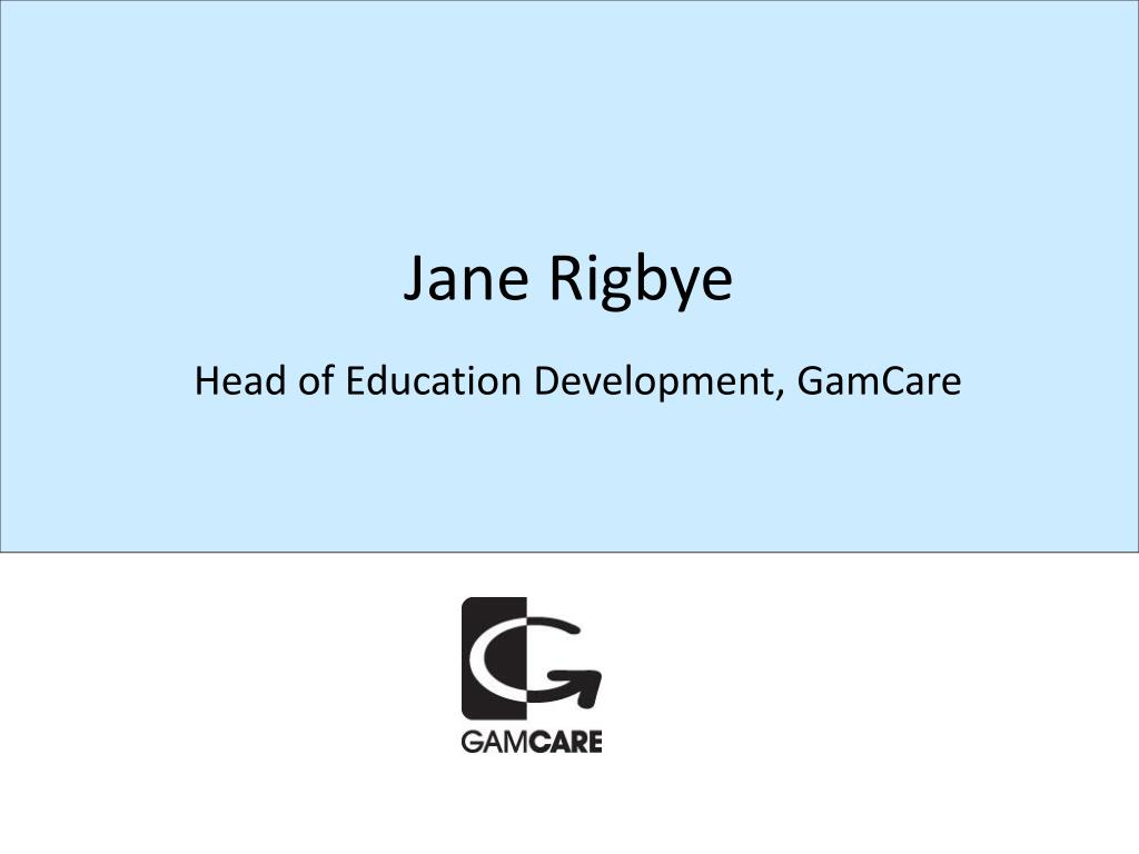Jane Rigbye