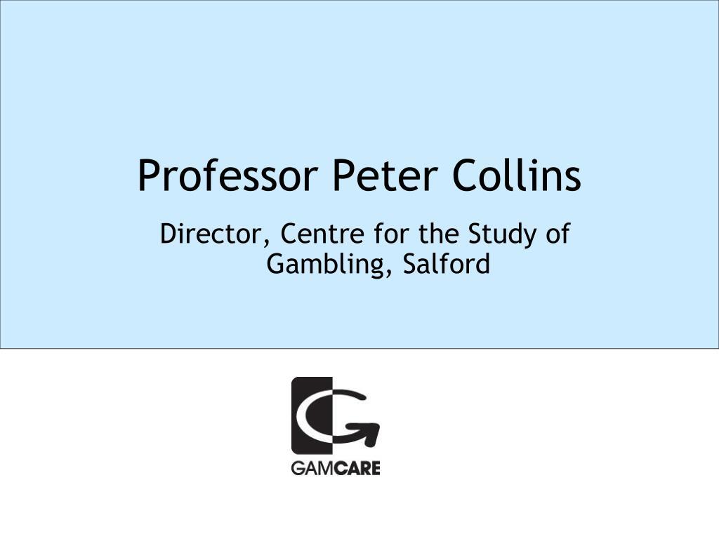 Professor Peter Collins