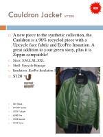 cauldron jacket 7200