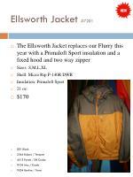 ellsworth jacket 7201