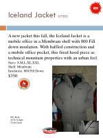iceland jacket 7202