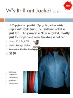 w s brilliant jacket 7750