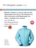 w s slingshot jacket 1472