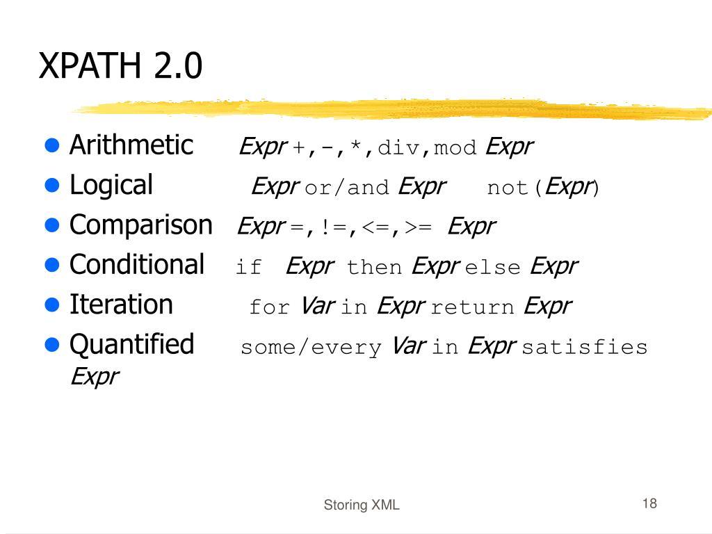 XPATH 2.0