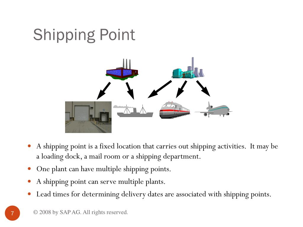 Shipping Point