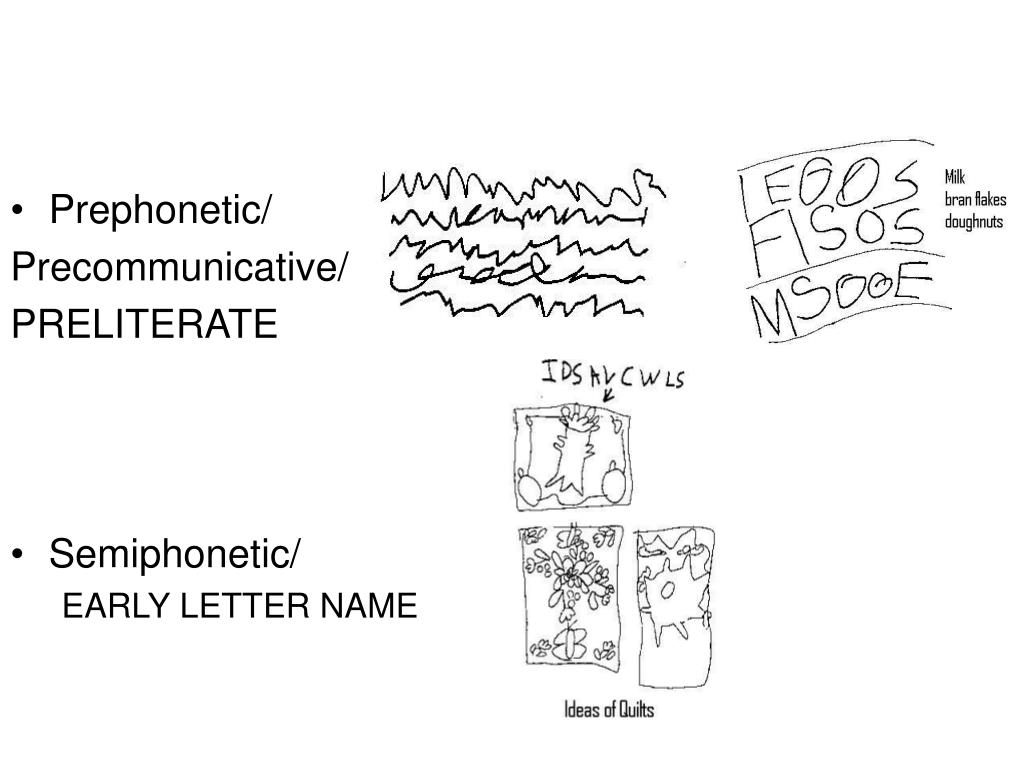 Prephonetic/