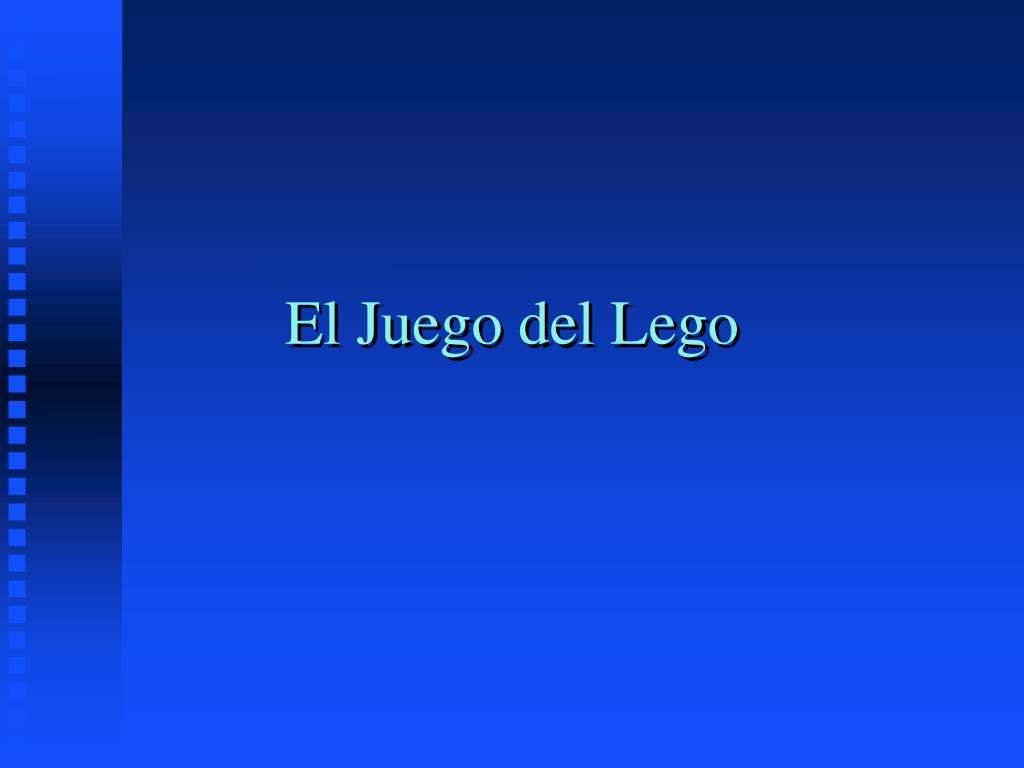 El Juego del Lego