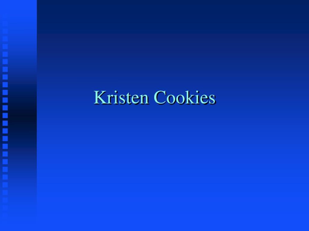 Kristen Cookies