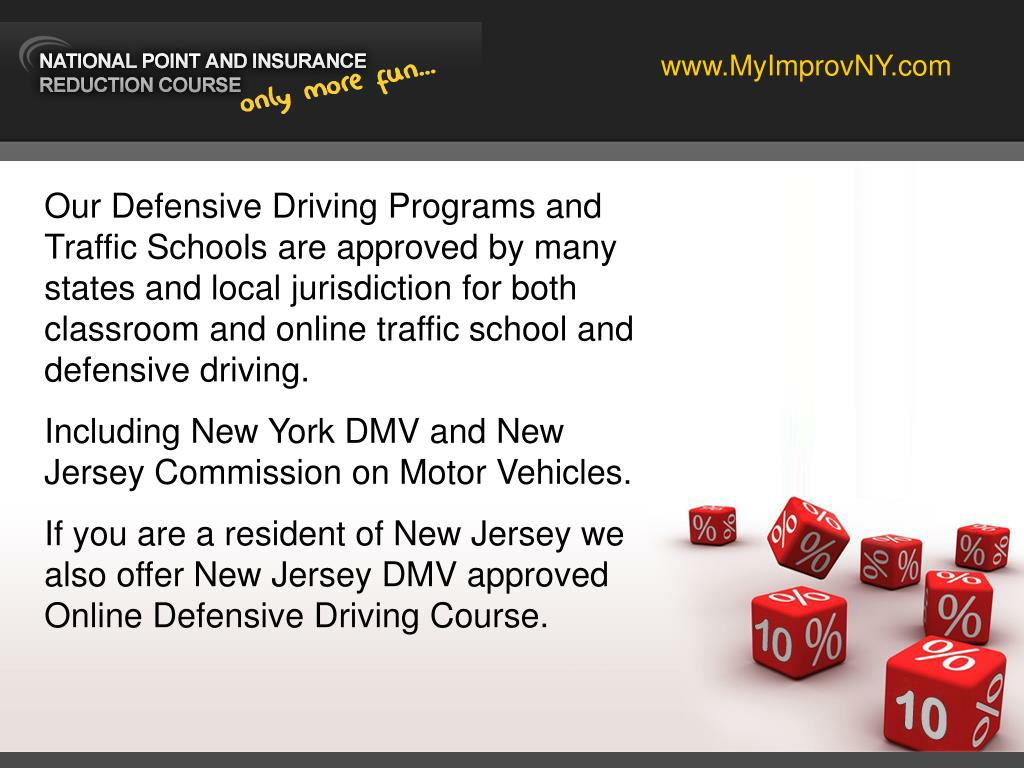 Online Defensive Driving Course Nj >> Ppt Ny Defensive Driving Courses By Improv Powerpoint